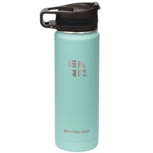Earthwell Roaster Vakuum-Trinkflasche mit Befestigungsvorrichtung 592 ml Aqua Blue