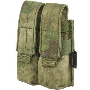 Flyye Ver. FE Doppel-Magazintasche für 9 mm-Kaliber MOLLE-Befestigungssystem A-TACS FG