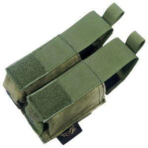 Flyye Ver. HP Doppel-Magazintasche für 9 mm-Kaliber MOLLE-Befestigungssystem A-TACS FG