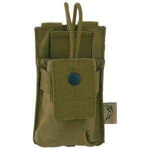 Flyye Short Tasche für Handfunkgerät MOLLE-Befestigungssystem Coyote Brown