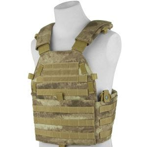 Flyye New MOLLE LT6094 Weste A-TACS AU