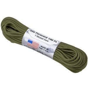 Atwood Rope 550 Lbs. Fallschirmschnur Olive Green