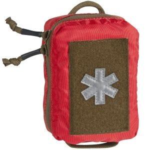 Helikon Mini Med Kit Polyester-Tasche für Erste-Hilfe-Zubehör Rot