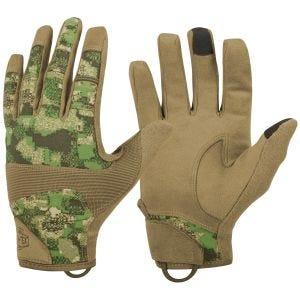 Helikon Range Hard Taktische Handschuhe PenCott WildWood/Coyote