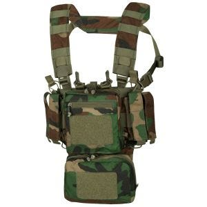 Helikon Training Mini Einsatzweste US Woodland