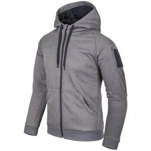 Helikon Urban Tactical Hoodie Full Zip Melange Grey