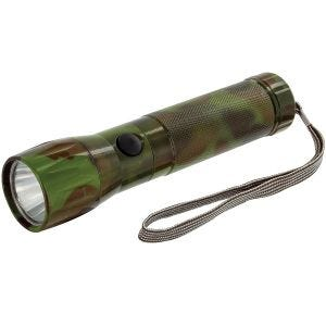 Highlander 1W LED-Taschenlampe Aluminium Camo