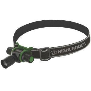 Highlander Focus 3W LED-Stirnlampe Schwarz/Oliv
