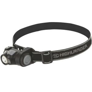 Highlander Shine 3W-Stirnlampe mit Cree-LED Schwarz
