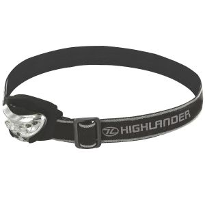 Highlander Vision 2+1 LED-Stirnlampe Schwarz