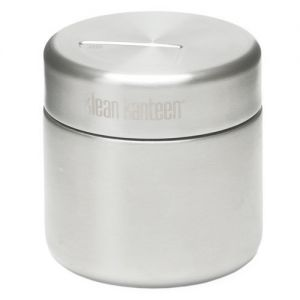 Klean Kanteen 237 ml Food Canister einwandig Brushed Stainless