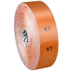 KT Tape Jumbo Pro Synthetisches Kinesio-Tape vorgeschnitten Blaze Orange