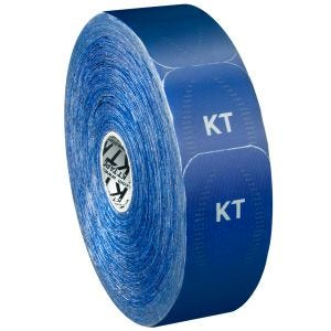 KT Tape Jumbo Pro Synthetisches Kinesio-Tape vorgeschnitten Sonic Blue