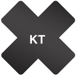 KT Tape Pro-X Synthetisches Pflaster 15 Stück Schwarz