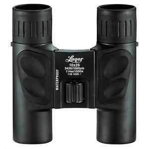 Luger LR 10x26 Fernglas Schwarz