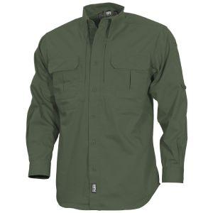MFH Strike Taktisches Langarm-Hemd OD Green