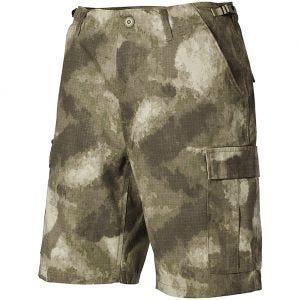 MFH US BDU Bermuda-Shorts HDT Camo AU