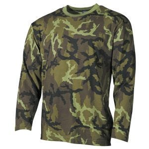 MFH Langarm-Shirt Czech Woodland