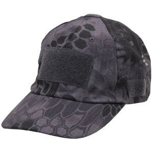 MFH Operations Basecap Snake Black