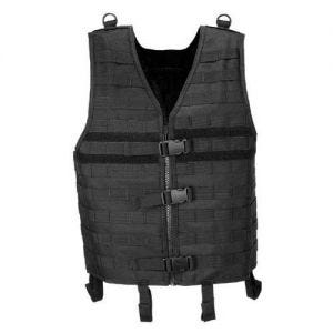 MFH MOLLE Light Weste Schwarz