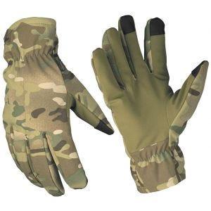 Mil-Tec Softshell-Handschuhe mit Thinsulate Multitarn