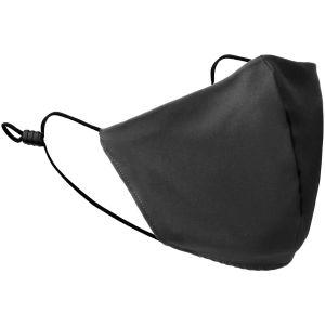 Mil-Tec Mouth/Nose Cover V-Shape Elastic Black