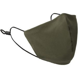 Mil-Tec Mouth/Nose Cover V-Shape Elastic Olive