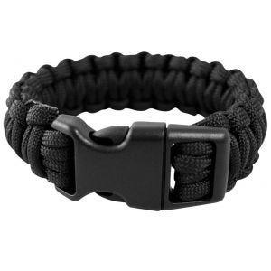 Mil-Tec 15 mm Armband aus Fallschirmschnur Schwarz
