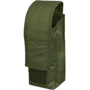 Mil-Tec AK47 Einzel-Magazintasche mit MOLLE-Befestigungssystem Oliv