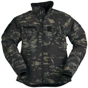 Mil-Tec SCU 14 Softshell-Jacke Multitarn Black