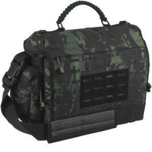 Mil-Tec Tactical Paracord Bag Large Umhängetasche Multitarn Black