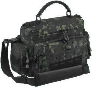 Mil-Tec Tactical Paracord Bag Small Umhängetasche Multitarn Black