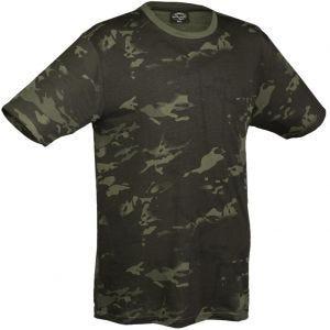 Mil-Tec T-Shirt Multitarn Black