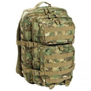 Mil-Tec US Assault Pack Large Einsatzrucksack mit MOLLE-Befestigungssystem Arid Woodland