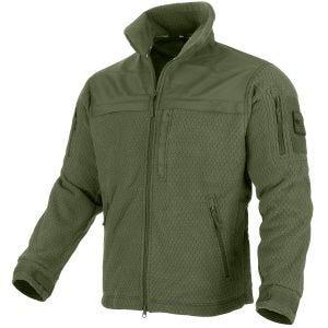 Mil-Tec Elite HexTac Fleece-Jacke Olivgrün