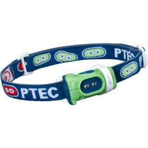 Princeton Tec Bot Kopflampe weiße LED Grün-blaues Gehäuse