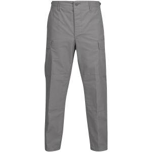 Propper BDU Hose mit Knopfverschluss aus Baumwoll-Polyester-Ripstop Grau