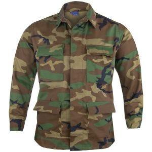 Propper BDU Jacke aus Baumwoll-Polyester-Twill Woodland