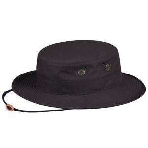 Propper taktischer Boonie Hat aus Polyester-Baumwoll-Mischung Schwarz