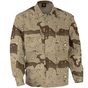 Propper Uniform BDU-Jacke aus Baumwoll-Polyester-Ripstop Desert 6 Farben