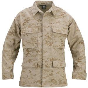Propper Uniform BDU-Jacke aus Baumwoll-Polyester-Ripstop Digital Desert