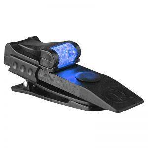 QuiqLite Pro LED-Taschenlampe Weiß/Blau