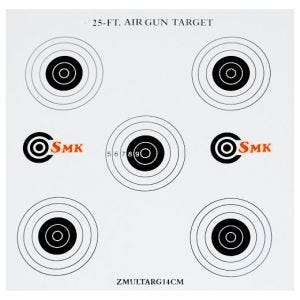 SMK 25ft 14 cm Papp-Zielscheiben (100 Stück)
