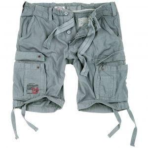 Surplus Airborne Shorts im Vintage-Stil Grau