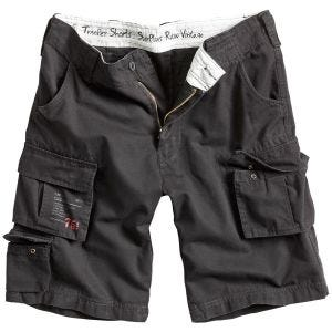 Surplus Trooper Shorts Black Washed