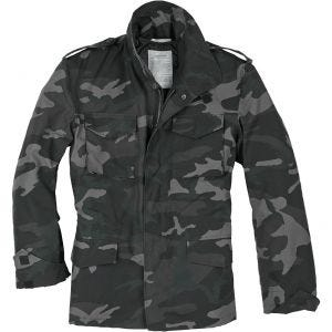 Surplus US M-65 Feldjacke Black Camo