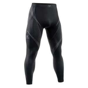 Tervel Optiline Lange Unterhose Schwarz / Grau