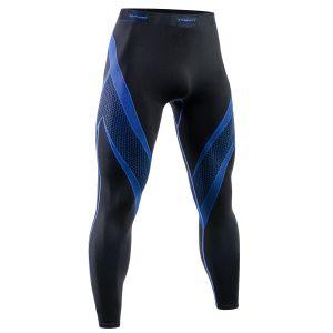 Tervel Optiline Sport-Leggings Schwarz / Blau