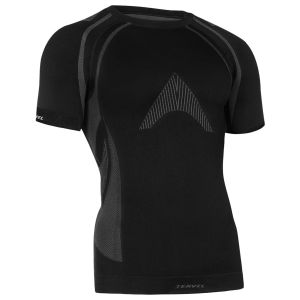 Tervel Optiline MOD-02 Kurzarm-Shirt Schwarz / Grau