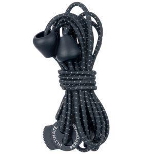 Ultimate Performance Reflektierende elastische Schnürsenkel Navy